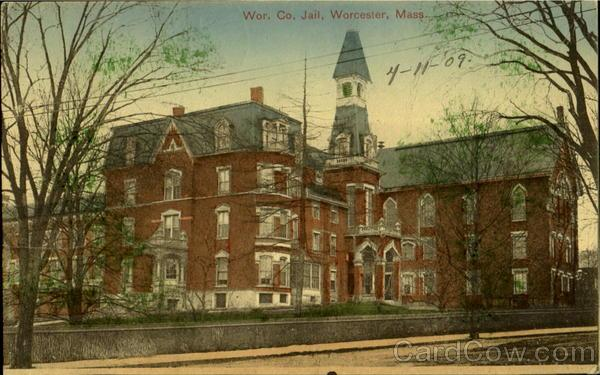 Worcester Mass Places Of The Past Jail